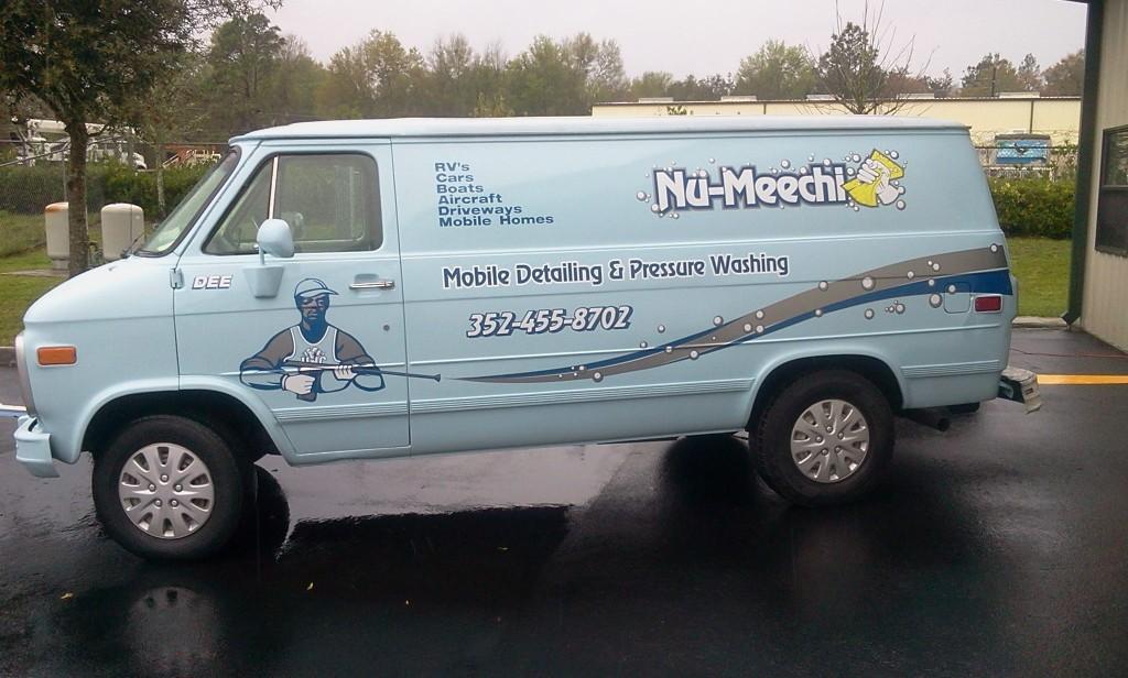 Sorrento Leesburg Eustis Mt Dora vehicle wraps signs lettering Exhibits 36