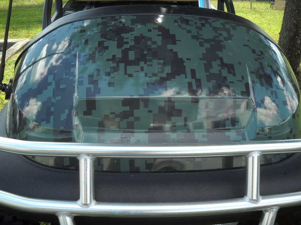 Sorrento Leesburg Eustis Mt Dora vehicle wraps signs lettering Exhibits 43